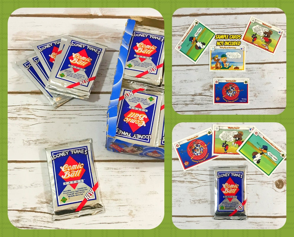 Looney Tunes Baseball Trading Cards 2 1990 Comic Ball 2