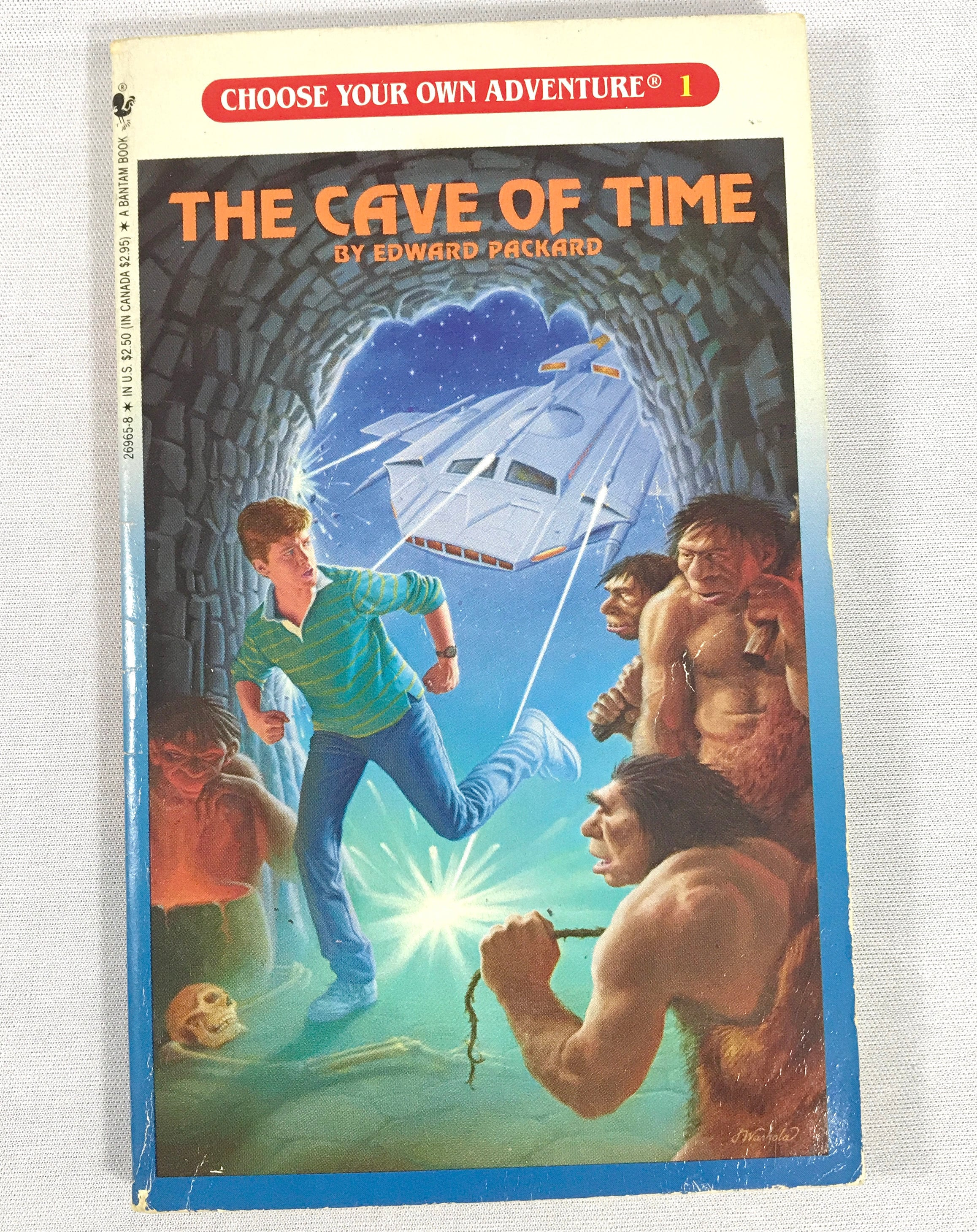 Cave of Time Choose Your Own Adventure Books #1 - First in Series - Young  Adult / Youth Interactive Story - Multiple Endings