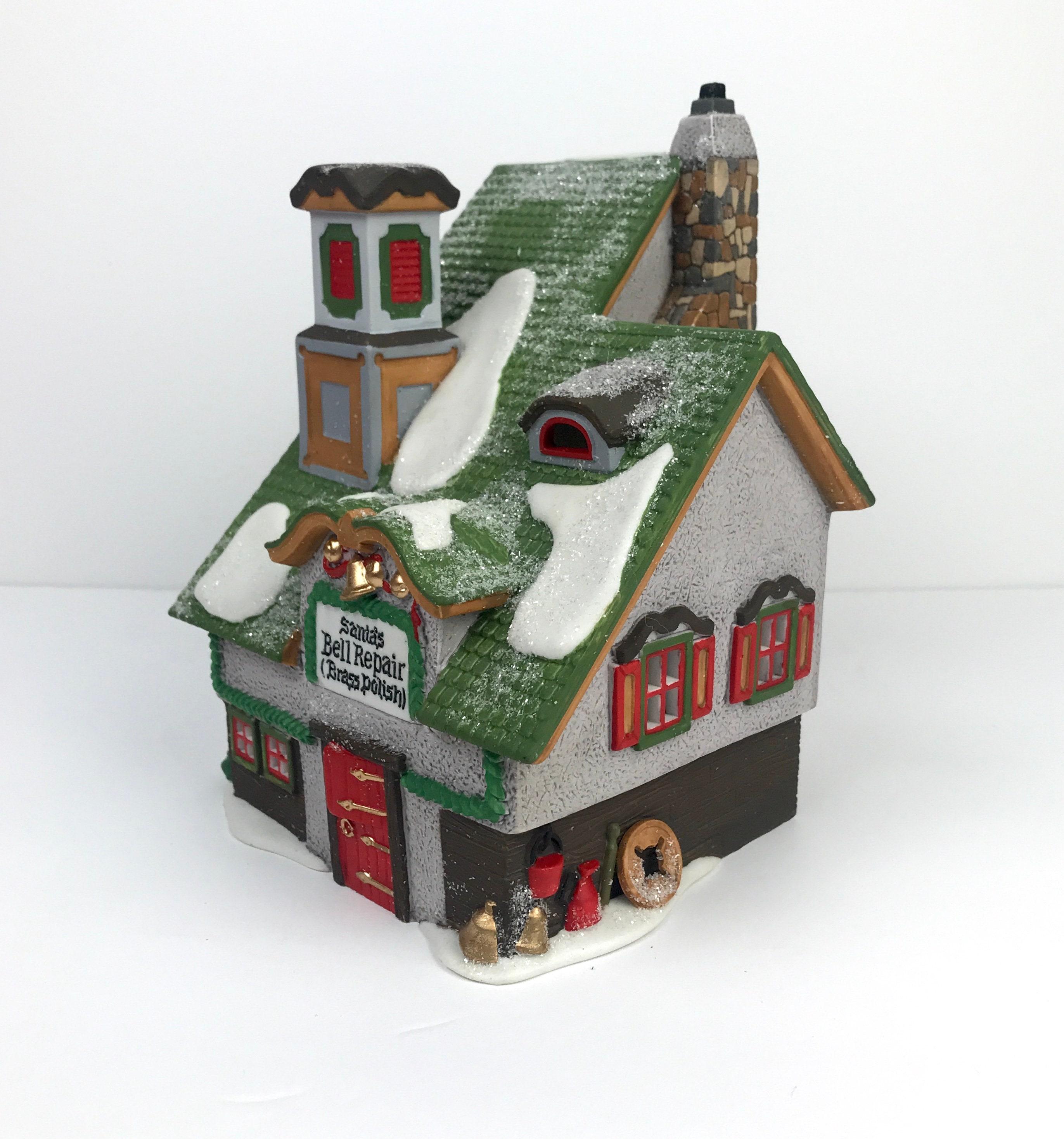 Santa's Bell Repair Christmas Village Shop from Dept. 56 ...