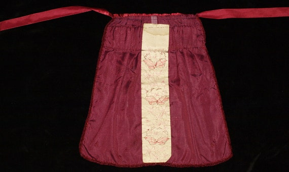 Vintage Hand Made Hungarian Claret Red Velvet Bon… - image 2