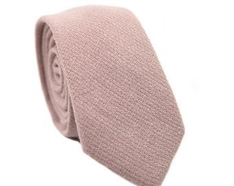 M620-ST6 Men/'s 6.5CM Thin Narrow Ties Slim Mens Men Wedding Weddings Groomsmen White Dots On Warm Pink Skinny Tie