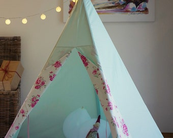 Teepee english countryside + floor mat