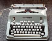 FREE SHIPPING 1970 Hermes 3000 Typewriter Good Working Condition