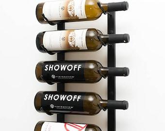 3 Bottle Wine Rack Etsy