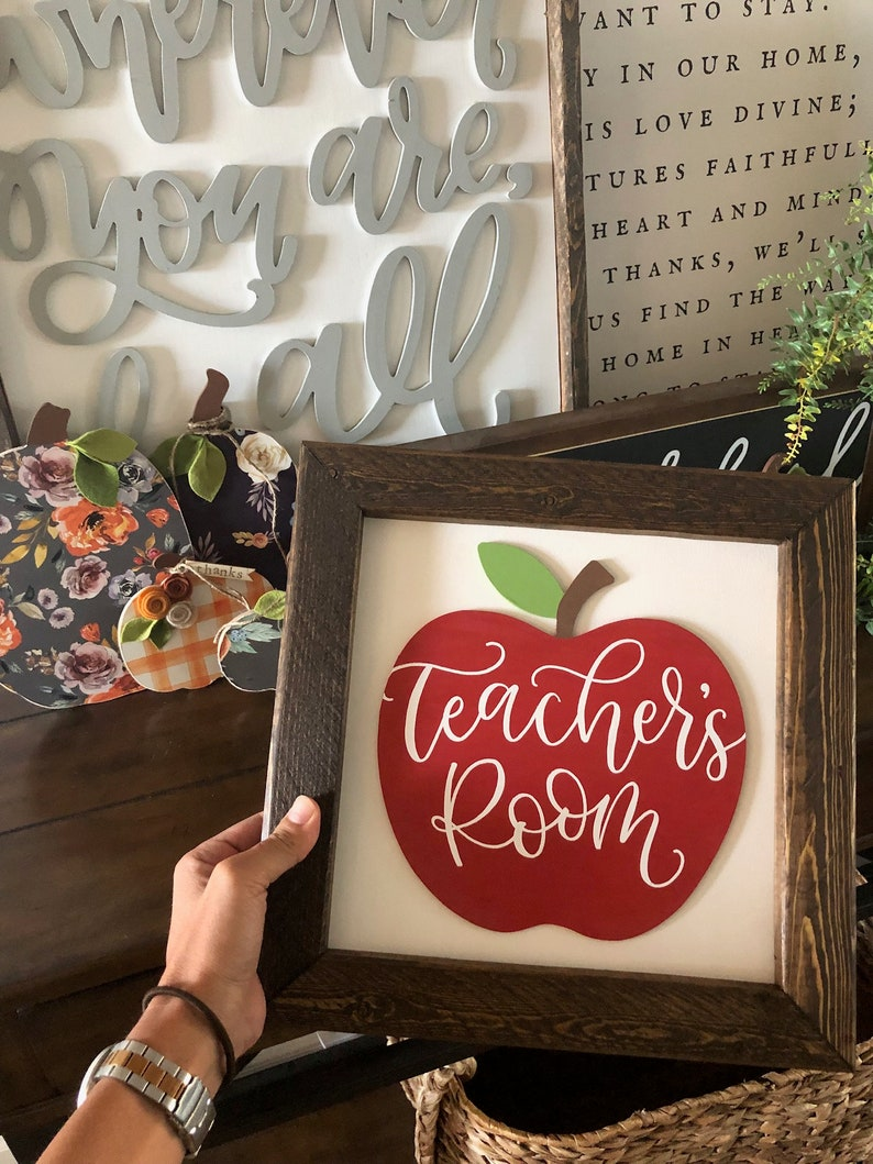 gift for her personalized gift gift Teacher name sign teacher gifts gifts for teachers teachers teacher teacher sign teacher gift