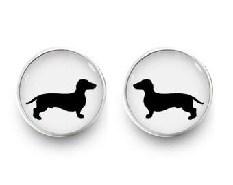 Sausage dog earring Etsy