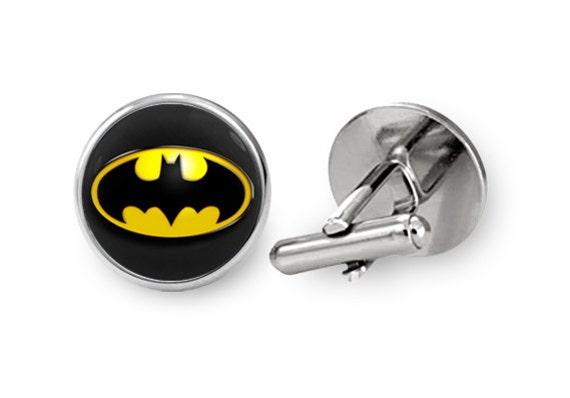 Batman boutons de manchettes pour hommes