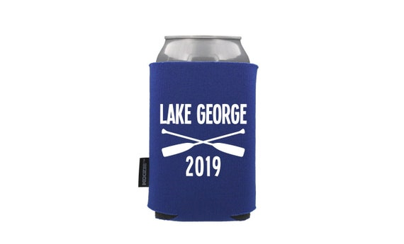 Custom White Beer Can Cooler for 12 oz Cans Rona 2020 Personalized Name