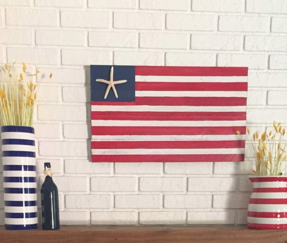 Americana Home Accent Florida  State Flag Metal Sign Rustic Decor