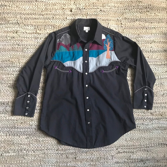 Urban Renewal Embroidered Cowboy Shirt