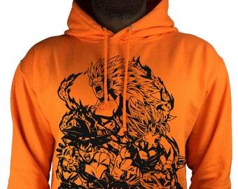 Dragonball Z hoodie anime/ manga Goku sweat