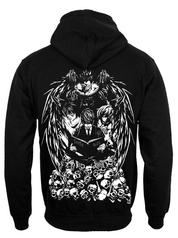 Death Note zoodie Light Yagami sweatshirt Shinigami Ryuk Light and Death xHWoNAc