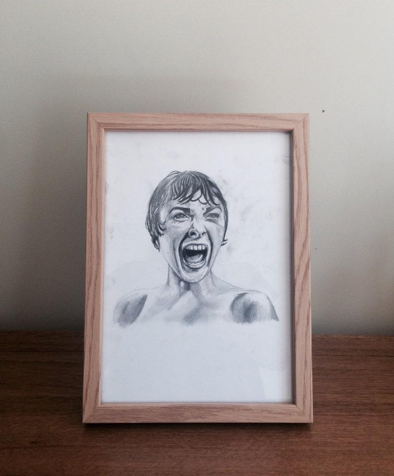 Physcho scream Customizes Pencil Drawing