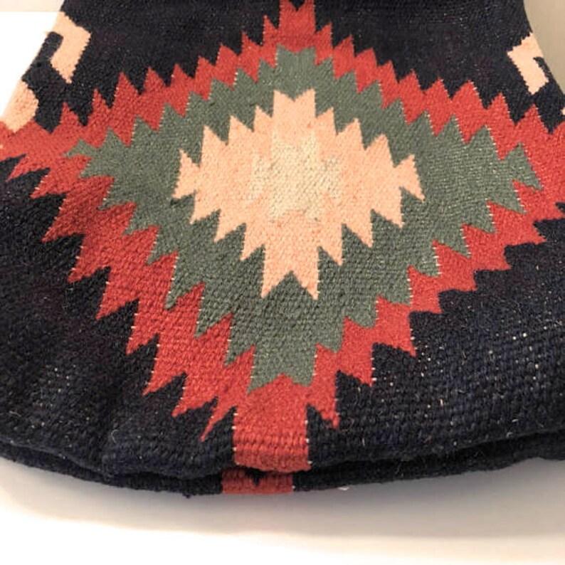 Handmade Kilim Gypsy Tote Bag Vintage Kilim Bag Weekender bag.