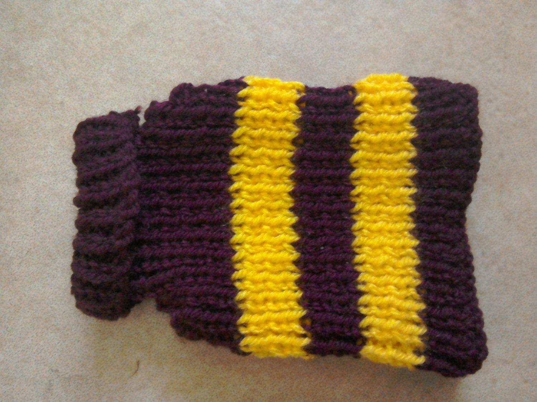 Perro suéter suéter marrón amarillo ropa mascotas ropa   Etsy