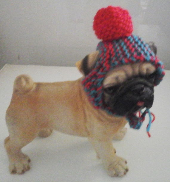 De punto sombrero de gato perro de Navidad sombrero  166b4509bb4