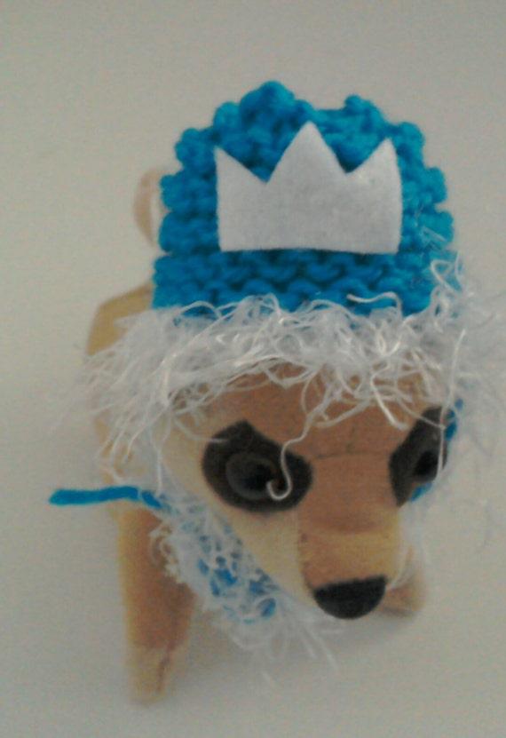 Congelados inspirado Elsa Hat sombrero de conejillo de  886cb6d6bca