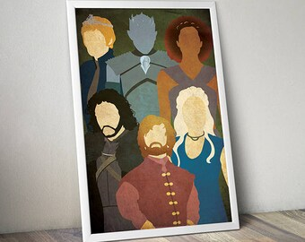 Game of thrones poster | Etsy