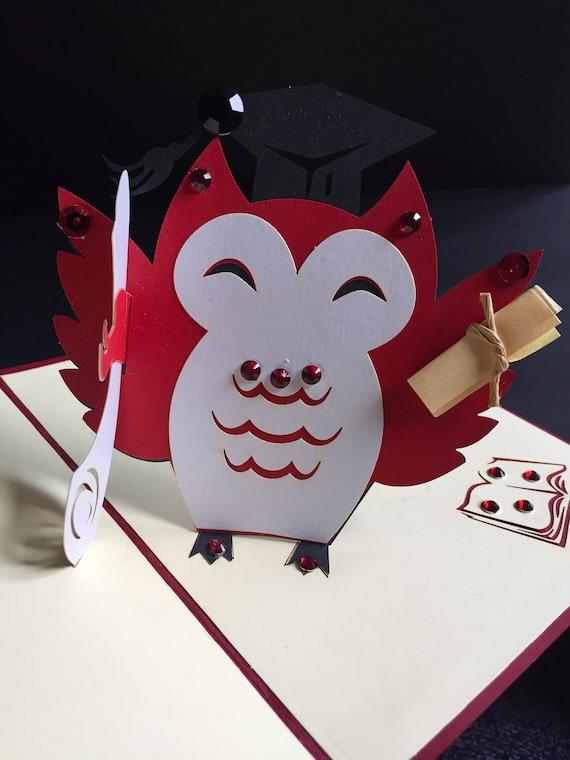 Graduation CardYou/'ve passedWell DoneCelebration CardCongratulations CardYou/'ve Nailed It  StudentHandmade Pop Up Card