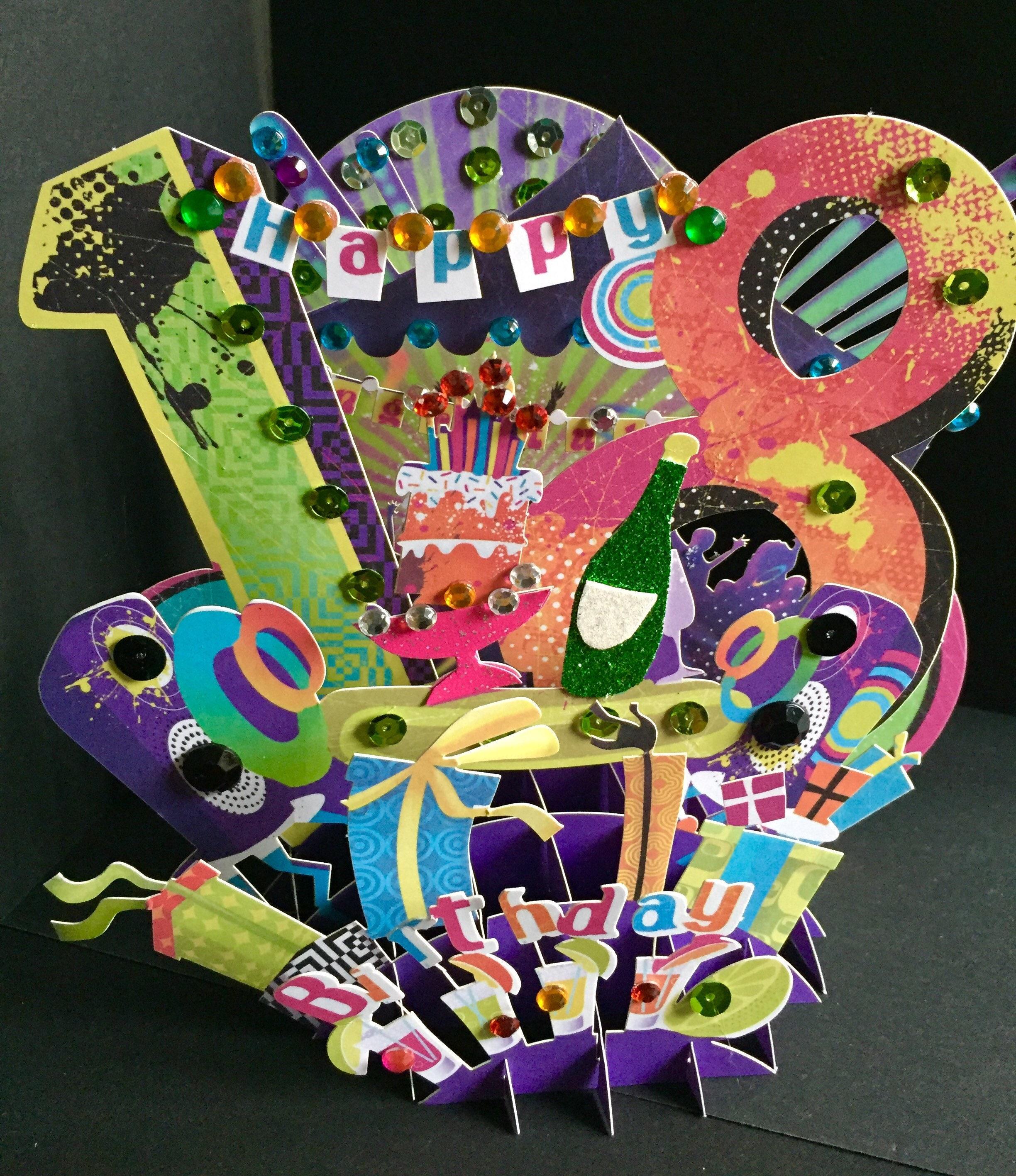 Happy Birthday/18th Birthday/Coming Of | Etsy
