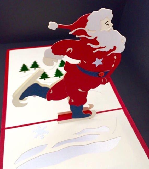 Frohe Weihnachten/Jahreszeiten Grüße/glücklich Urlaub/3D | Etsy