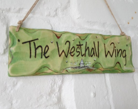 Personalised Sign * Driftwood Style * House Sign *  House Sign * Illustrated Sign * Wales
