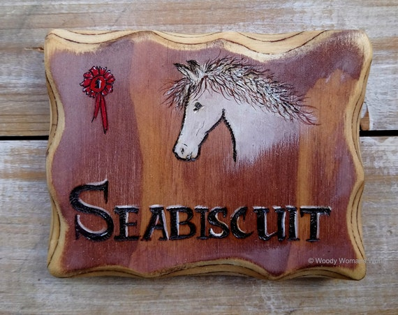 Horse Sign * Wooden Stable Sign * Personalised Pet Sign * Custom Shed Sign