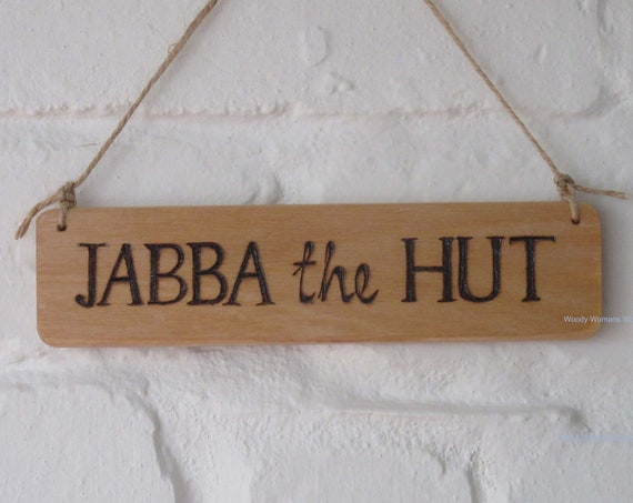 Hut Sign * Custom made *Shed Sign -  Garden Sign -  Wooden Sign -  Personalised Plaque