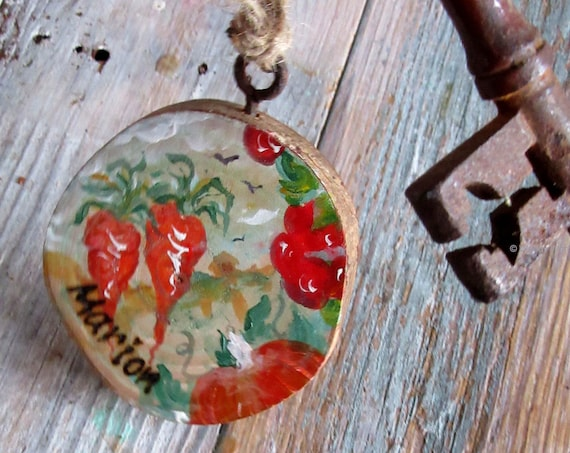 Key Ring Key Fob * Allotment Sign * Personalised Key Ring * Garden Sign Shed Gift