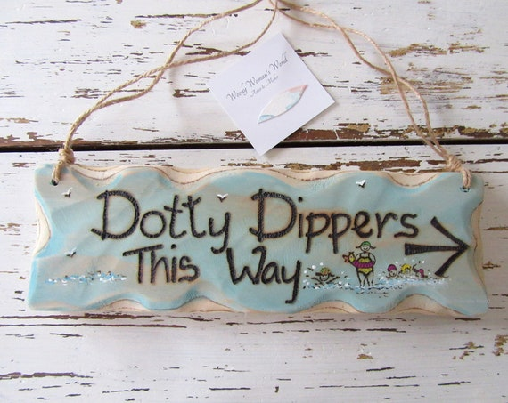 Personalised Sign * Swimming * Sport Sign * Driftwood Style * Illustrated Sign *