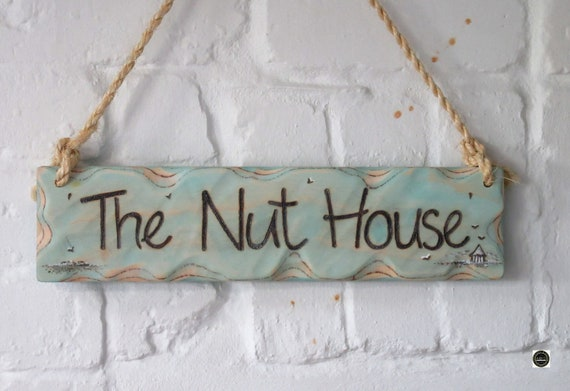 House Sign * Personalised Sign * Custom Sign * Handmade in Wales