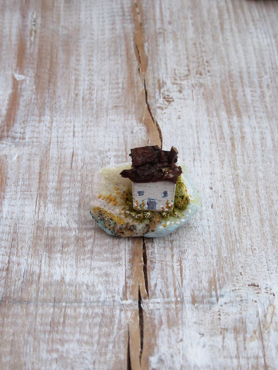 Wooden Cottage * Coastal Cottage *  Wooden Ornament * Coastal Cottages * Wooden House *  Handmade in Wales * Woody Womans World