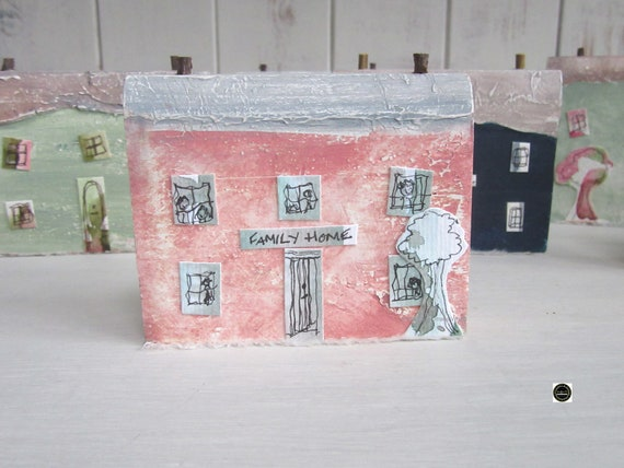 Wooden Cottage * Coastal Cottage * Wooden House  * Welsh Coastal Cottages * Handmade in Wales * Welsh Gift * Woody Womans World