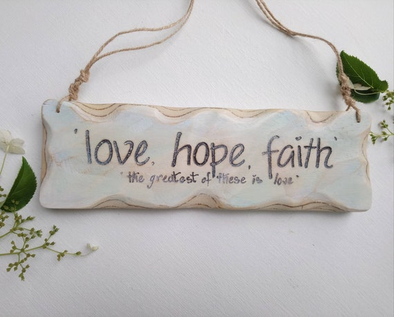 Wooden Sign * Inspirational  Sign * Handmade in Wales