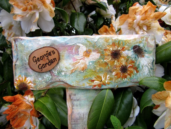 Allotment Gifts Garden Gifts WoodyWomansWorld Fairy Sign * Memorial sign * Personalised garden sign * Stake sign * Memorial garden sign