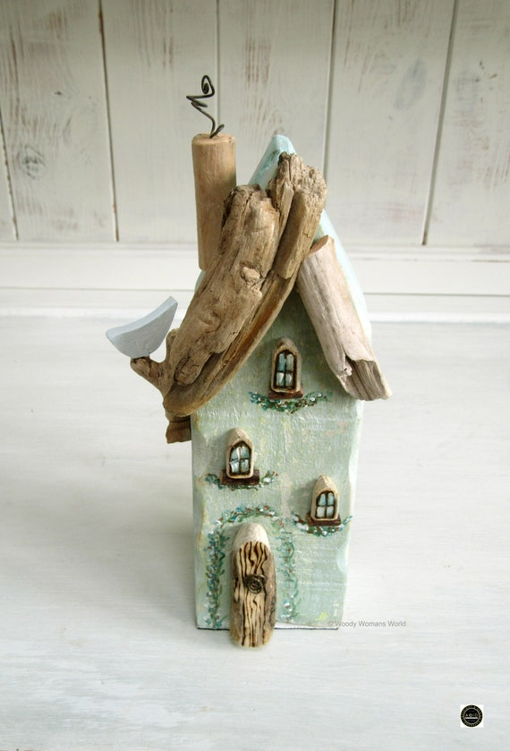 Driftwood * Wooden Cottage * Coastal Cottage * Wooden House  * Welsh Coastal Cottages * Handmade in Wales * Welsh Gift * Woody Womans World