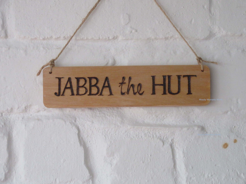 Hut Sign * Custom made *Shed Sign - Garden Sign - Wooden Sign ...