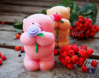 "Hand soap ""Puglias with rosette"""