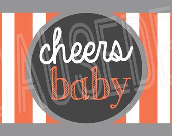 A Baby is Brewing Baby Shower Silverware Wrappers, set of 10 | Couples Baby Shower
