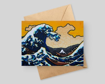 The Great Wave - 5x7 Greeting Card