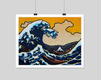 The Great Wave - Archival Print
