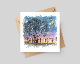 When Piglets Fly - Fine Art Greeting Card