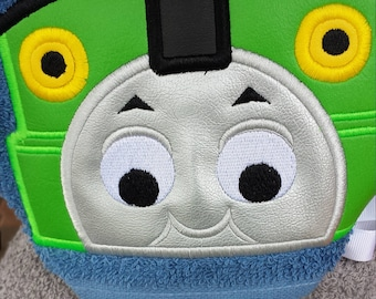 PERCY ENGINE Full Size Hooded Towel