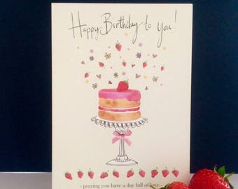 FB10   Strawberry Cake
