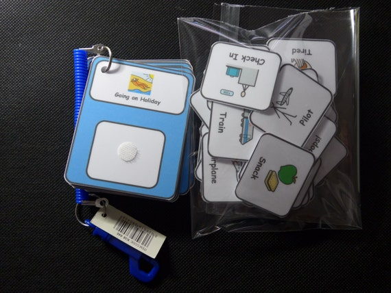 Shopping List Keyring Visual Support//Aid for Autism//ASD//SEN//Learning Difficulty