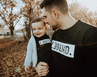 a17480e2 Legend and Legacy Shirts, Legend and Legacy, Father and Son, Daddy and Me,  Daddy and Son, Dad and Son Matching Shirts, Daddy and Me Shirts