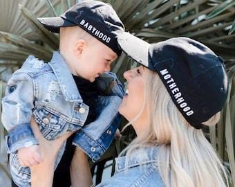 """The """"Hood"""" Collection - Motherhood, Fatherhood, Childhood, Babyhood, Family Hats, Mommy and Me, Daddy and Me, Mommy and Me Hats, Daddy"""