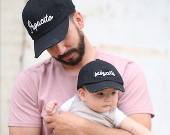 Mamacita, Papacito, Babycita, Family Hats, Mommy and me, Daddy and Me, Fathers Day, Mother's Day, Family Matching, Baby Hat