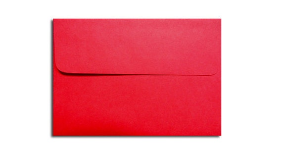20 holiday red envelopes in a7 a6 a2 a1 sizes etsy