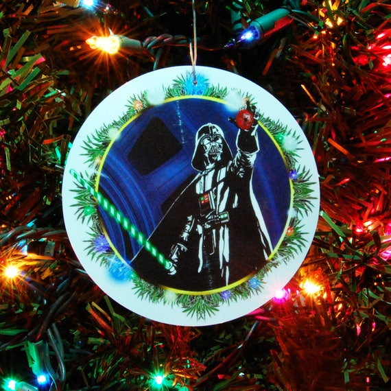 image 0 - STAR WARS Darth Vader Christmas Ornament Christmas Etsy